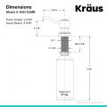 Дозатор моющего средства MYLO KSD-52MB Kraus