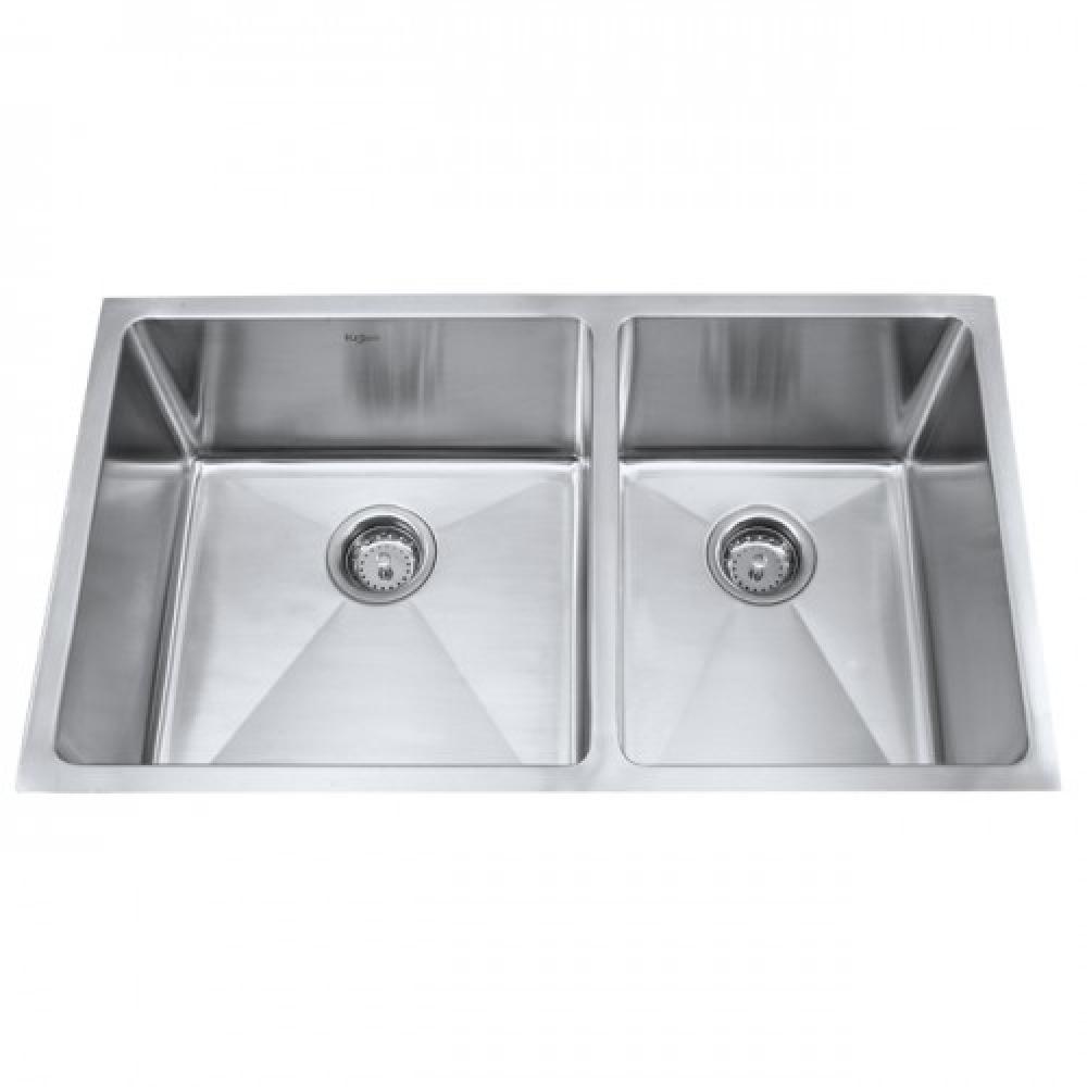 Мойка кухонная стальная KHU103-33 Kraus