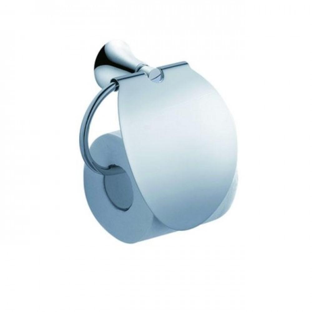 Держатель туалетной бумаги с крышкой Kraus Amnis KEA-11126CH