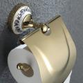 Держатель туалетной бумаги с крышкой Apollo KEA-16526G Kraus