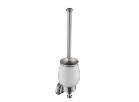 Ёршик для туалета с настенным держателем Apollo KEA-16531BN Kraus