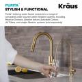 Кран для фильтрованной воды PURITA FF-100BB Kraus