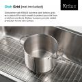 Мойка кухонная стальная KD1US17B DEX Kraus